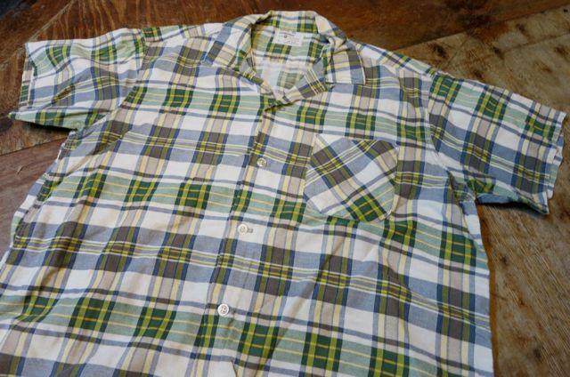 5/23(土)入荷!60\'S all cotton オープンカラーボックス シルエットシャツ!_c0144020_15364741.jpg