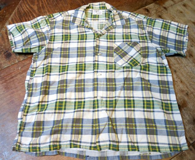 5/23(土)入荷!60\'S all cotton オープンカラーボックス シルエットシャツ!_c0144020_15364949.jpg