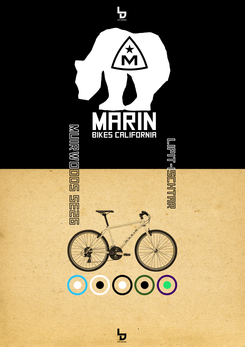 「MARIN」マリン x リピト ミュアウッズ 自転車 おしゃれ自転車 オシャレ自転車 自転車女子 クロスバイク_b0212032_19414923.jpg