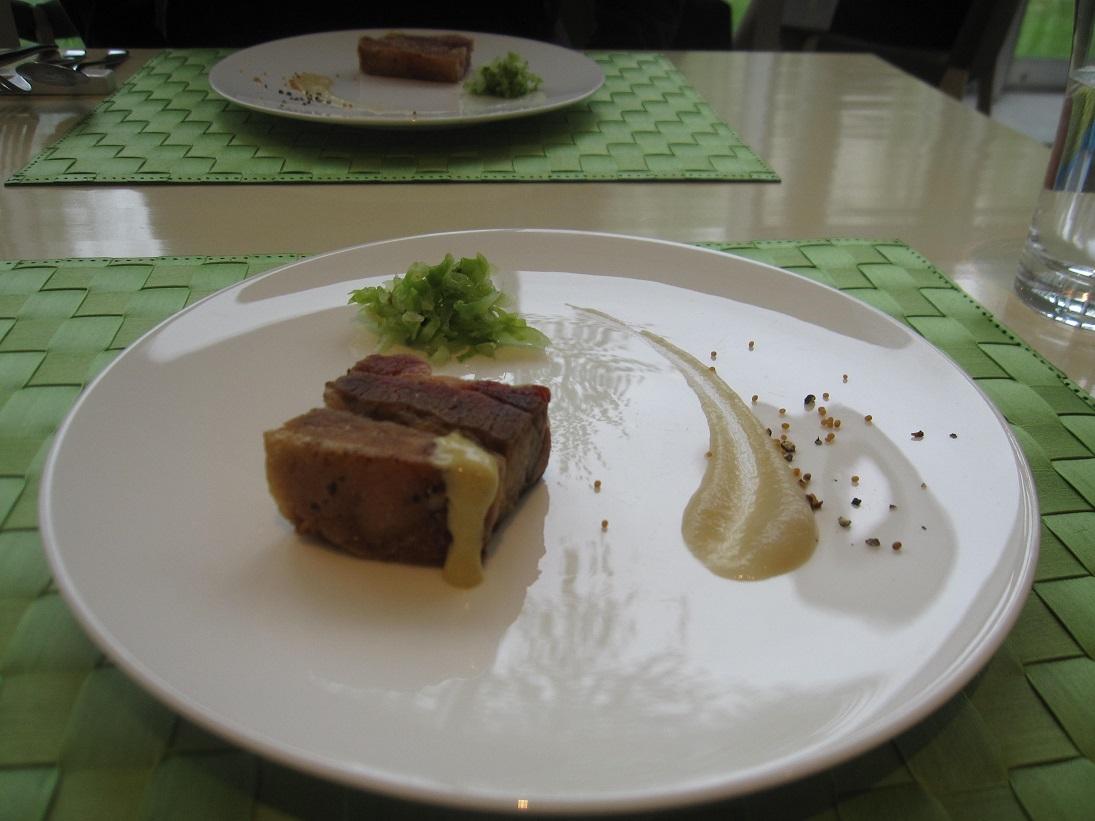 娘1はアスペルジュで食事をしてから帰京_a0279743_14254138.jpg
