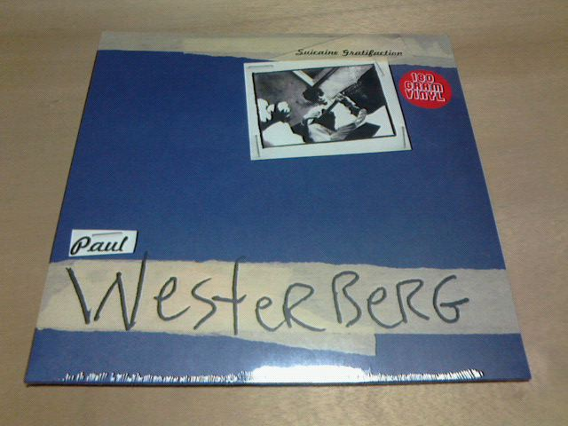 昨日到着レコ 〜 Suicaine Gratifaction / Paul Westerberg_c0104445_2331722.jpg