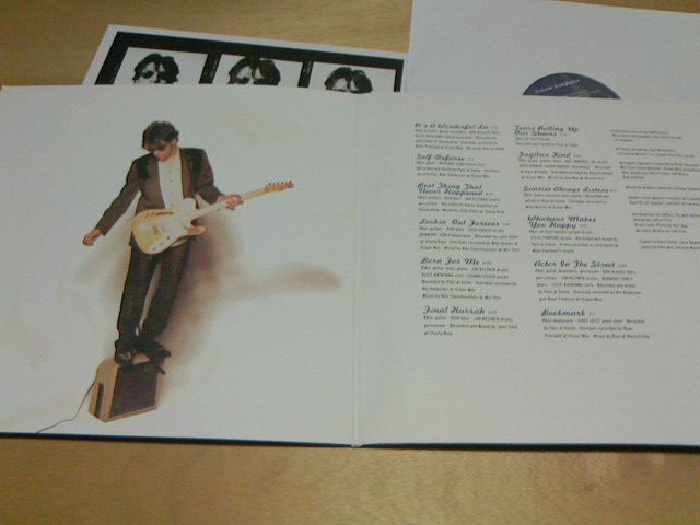 昨日到着レコ 〜 Suicaine Gratifaction / Paul Westerberg_c0104445_2342558.jpg
