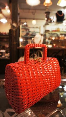 赤い かごバッグ_f0196455_135069.jpg