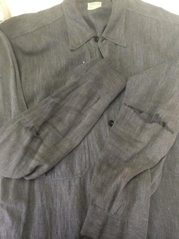 ヴィンテージシャツの肘リペア_d0210561_08441602.jpg