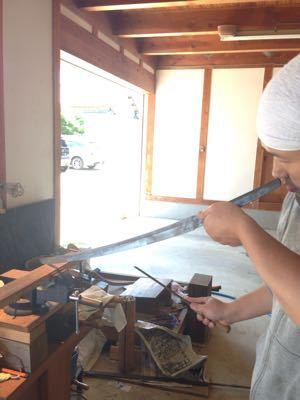 遠足と刀と糸と_a0168068_742359.jpg