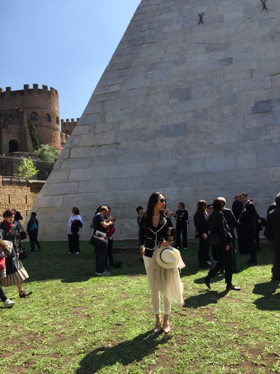 八木通商 ピラミッド修復完成記念式典_f0342875_21094606.jpg