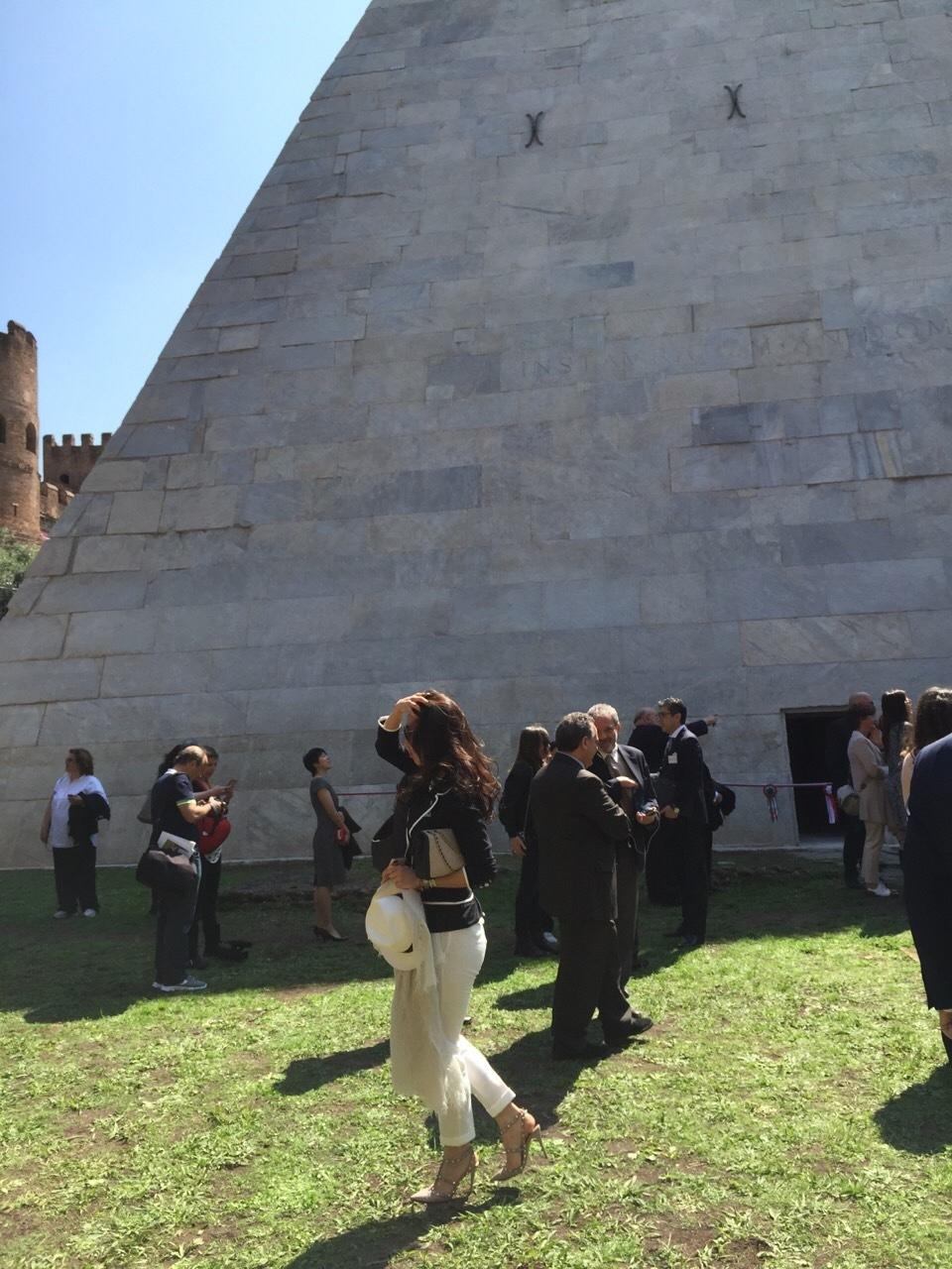八木通商 ピラミッド修復完成記念式典_f0342875_21120211.jpg