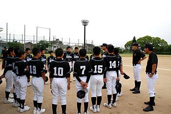 少年硬式野球 公式戦 第一戦_e0103024_23470455.jpg