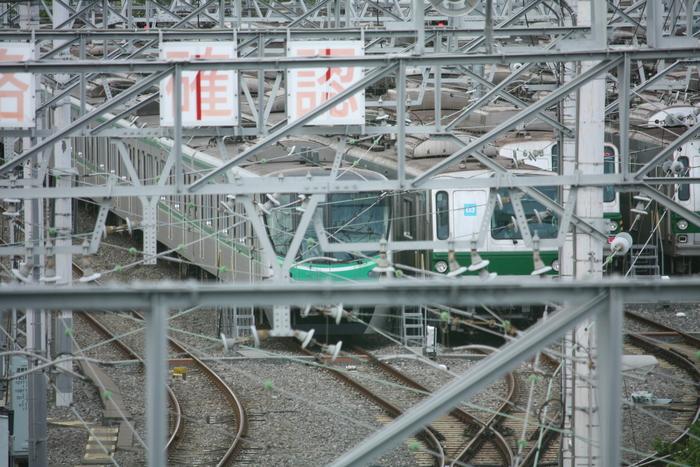 足立区/北綾瀬駅近くに操車場があります。_a0214329_7204286.jpg