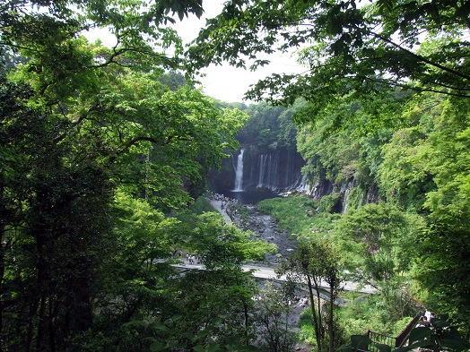 マイナスイオンたっぷりの白糸の滝。_b0089338_20223733.jpg