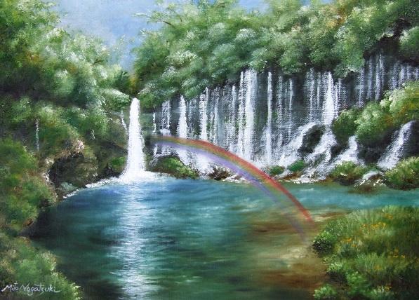 マイナスイオンたっぷりの白糸の滝。_b0089338_20235162.jpg