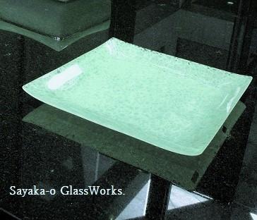 8.大江さやか 春のガラス展ーキルンワークのお皿たち_f0206741_21472155.jpg