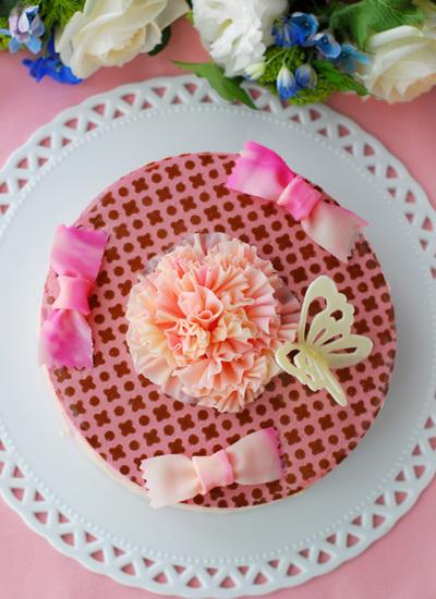 2015母の日のケーキ_c0169657_16480927.jpg