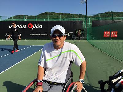 金栄堂サポート:本間正広選手 ジャパンオープン ITF Super Seriseご報告&Fact®インプレッション!_c0003493_14535287.jpg