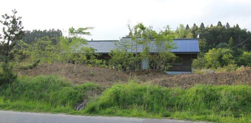 Q1住宅井川土縁:庭の植樹_e0054299_11404224.jpg