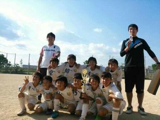 5月24日 (日)  U9 FC淀川主催   淀川CUP_f0138335_18425705.jpg