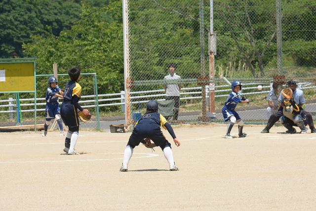 二本松大会決勝戦 宝泉中VS野崎中_b0249247_22375156.jpg