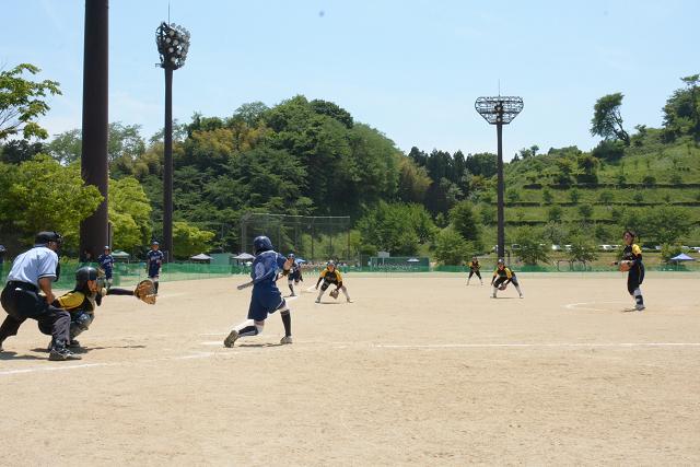 二本松大会決勝戦 宝泉中VS野崎中_b0249247_22392274.jpg
