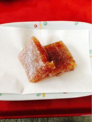クルミ柚餅子を食べながら_c0185356_92689.jpg