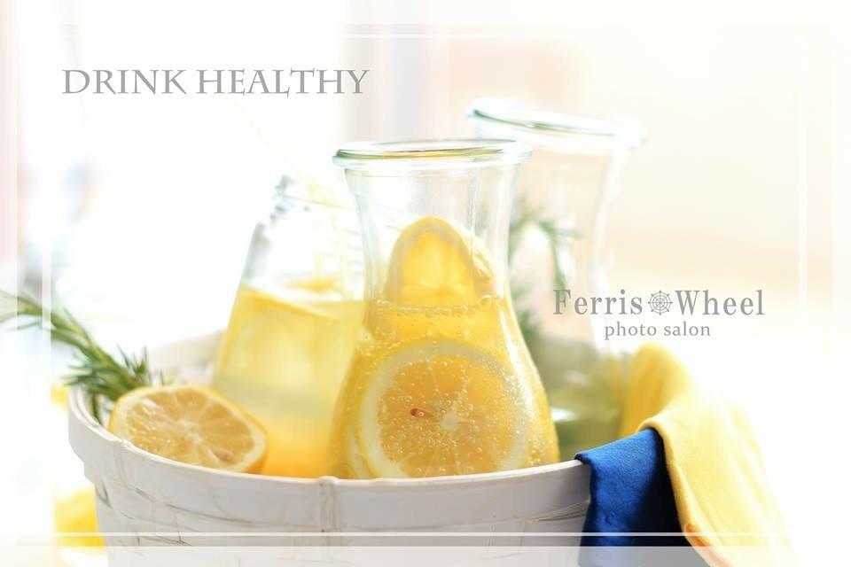 レモンと炭酸水でとっても簡単!夏にぴったりの爽やかドリンクタイム!