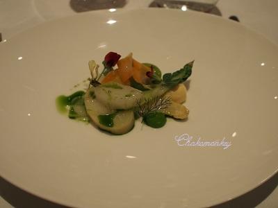 ミシュラン2つ星☆☆レストラン、Squareで美味しいディナー☆_f0238789_52340.jpg
