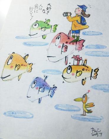 きんこ・色鉛筆画ワークショップ_f0043592_9273452.jpg