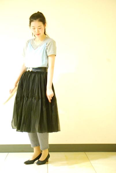 For daily life Tulle skirt_a0220798_16523962.jpg