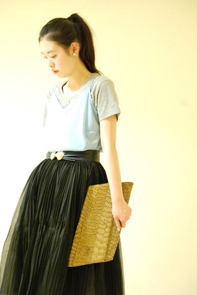 For daily life Tulle skirt_a0220798_16530102.jpg