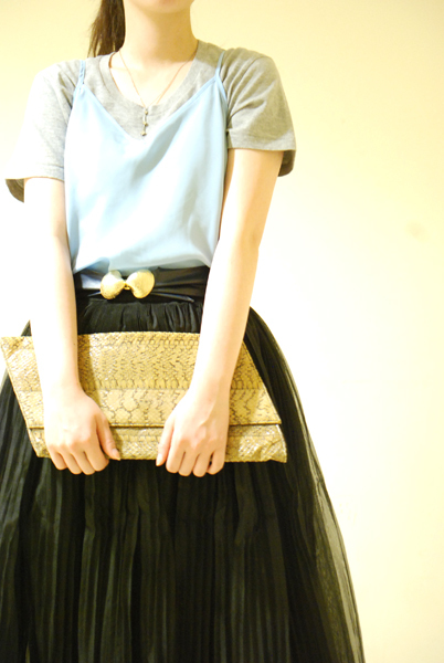 For daily life Tulle skirt_a0220798_16530185.jpg