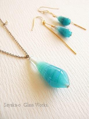 9.春のガラス展ー空と海のようなglass jewely_f0206741_23274330.jpg
