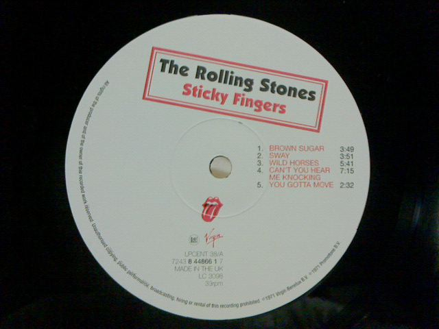 Sticky Fingers / The Rolling Stones_c0104445_23131354.jpg