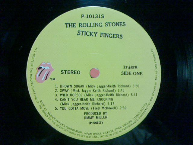 Sticky Fingers / The Rolling Stones_c0104445_23165886.jpg