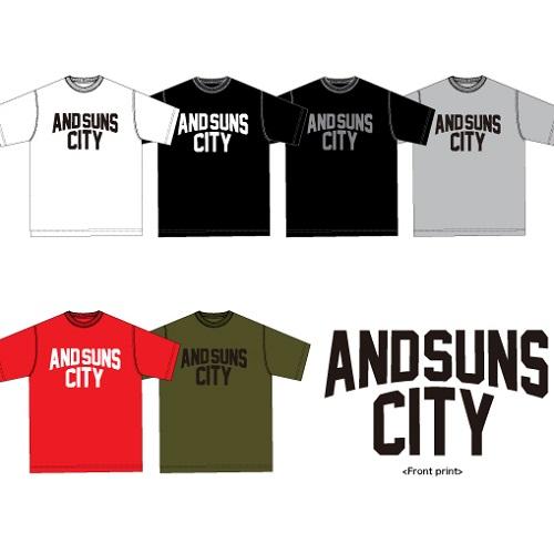 【先行予約】ANDSUNS CITY TEE_d0175064_122345.jpg