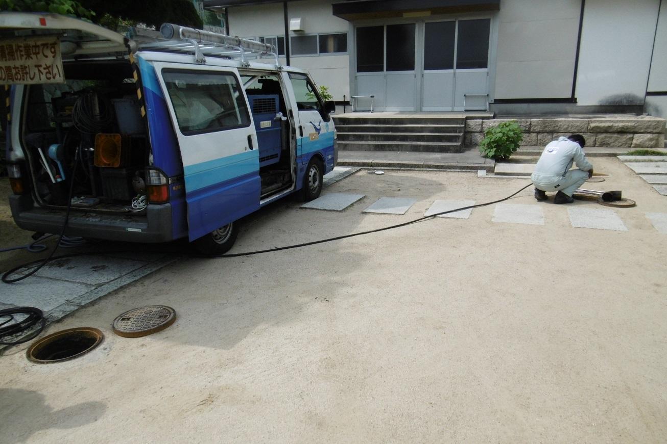 排水管のつまり_f0205367_17575207.jpg