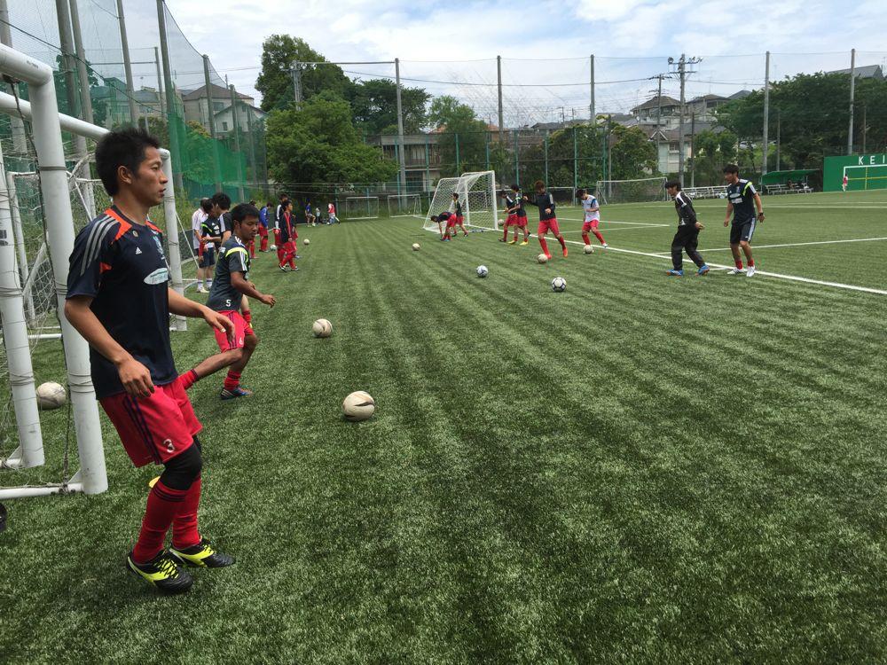 練習試合vs慶応大学_a0109270_6473851.jpg