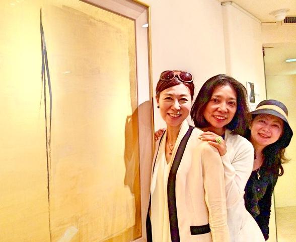 仲良し女子で銀座ギャラリー探訪をエンジョイ♪_a0138976_15365256.jpg