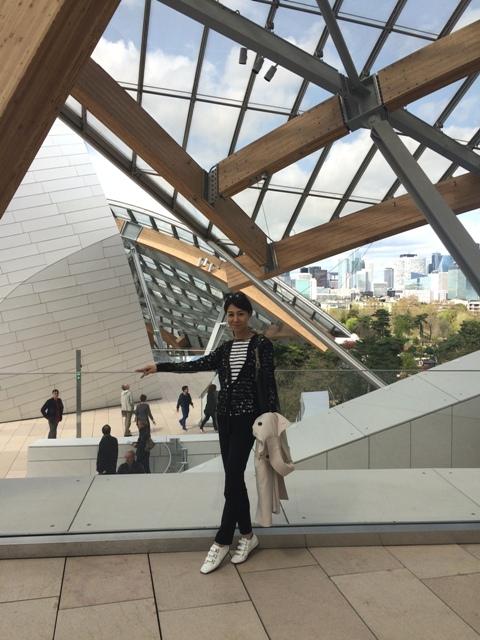 パリ旅~未来を感じる「ルイ・ヴィトン・ファウンデーション」~_a0138976_16371396.jpg