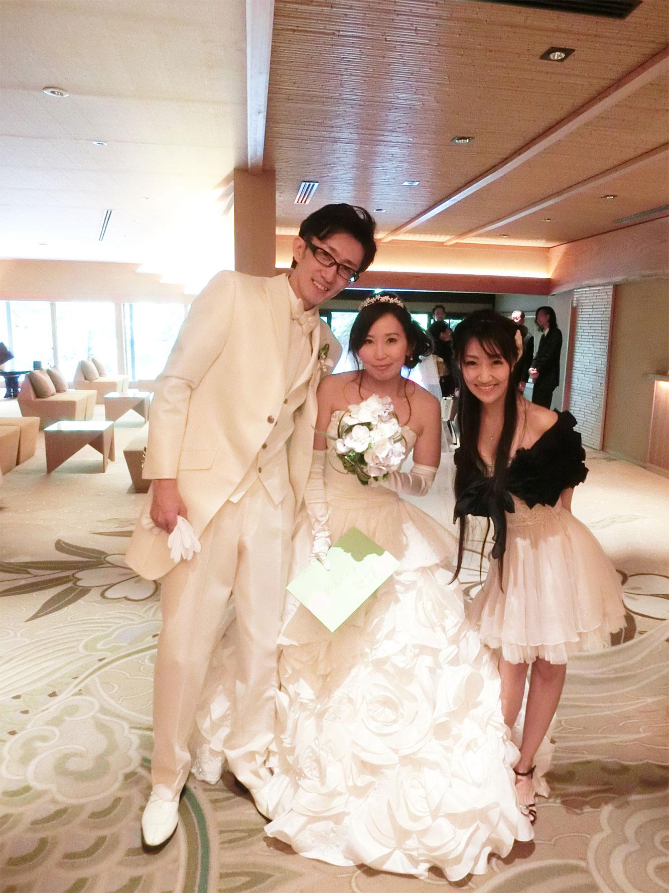 先輩の結婚式♡_d0224894_1517154.jpg