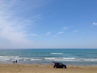 氷見から金沢へ  千里浜を車で_e0134337_13234581.jpg