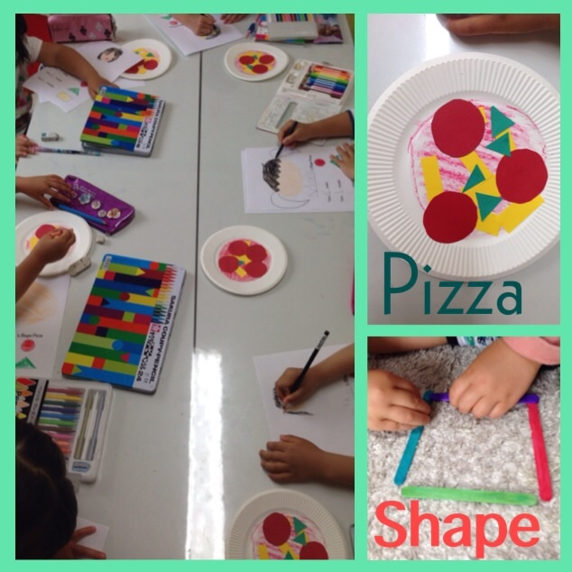 Kindy class 幼稚園英語 Pizza Party❗️_a0285570_00243306.jpg