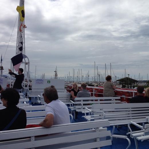 船でラ・スペツィアからポルトヴェーネレへ_a0136671_1465317.jpg