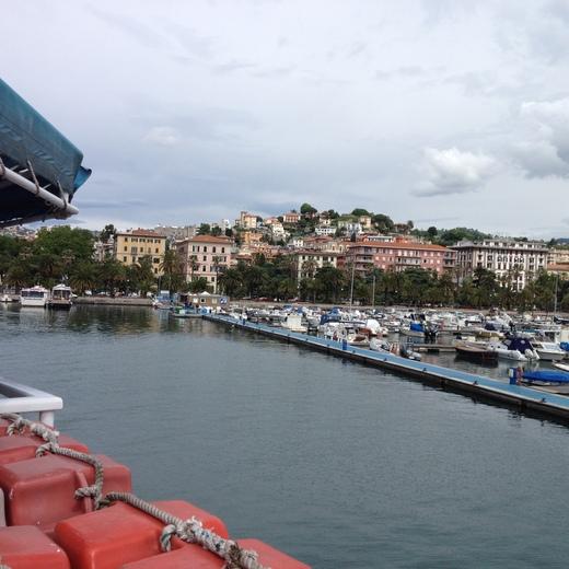 船でラ・スペツィアからポルトヴェーネレへ_a0136671_1515142.jpg