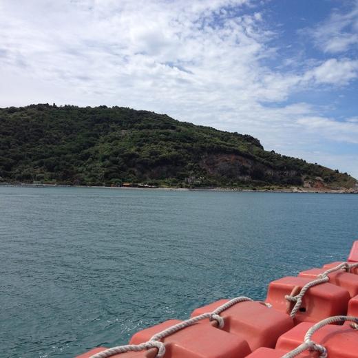 船でラ・スペツィアからポルトヴェーネレへ_a0136671_1555031.jpg