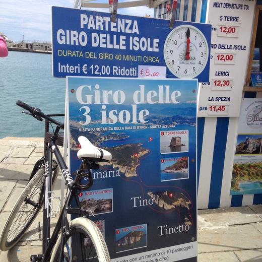 船でラ・スペツィアからポルトヴェーネレへ_a0136671_222563.jpg
