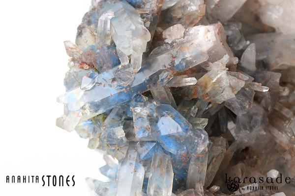 アホイト・パパゴアイトinクォーツ原石(南アフリカ産)_d0303974_23551041.jpg