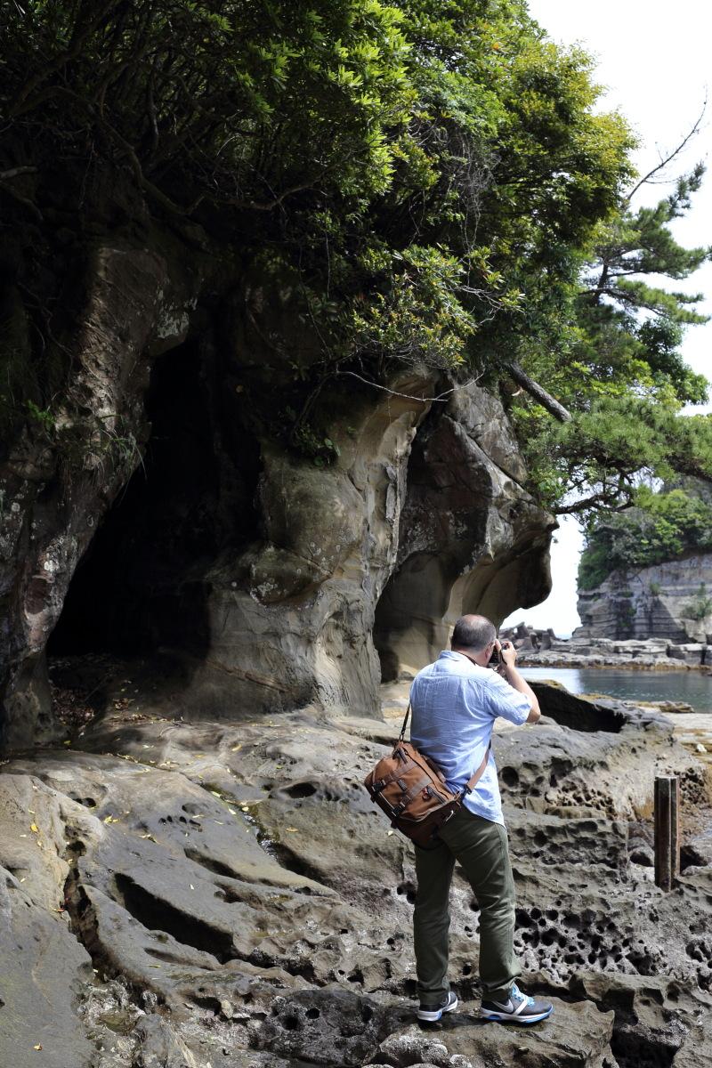 鵜原  岸壁のカメラおやじ_b0061717_2315271.jpg