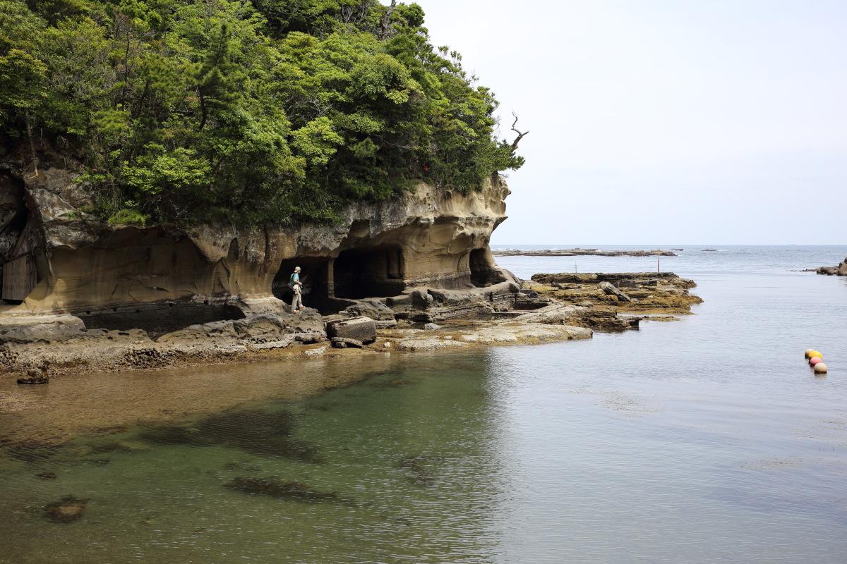 鵜原  岸壁のカメラおやじ_b0061717_23155443.jpg