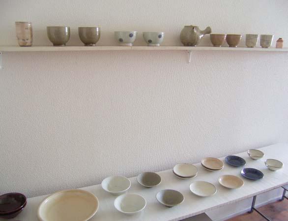 竹本さんのお皿と店内_b0206421_16364644.jpg