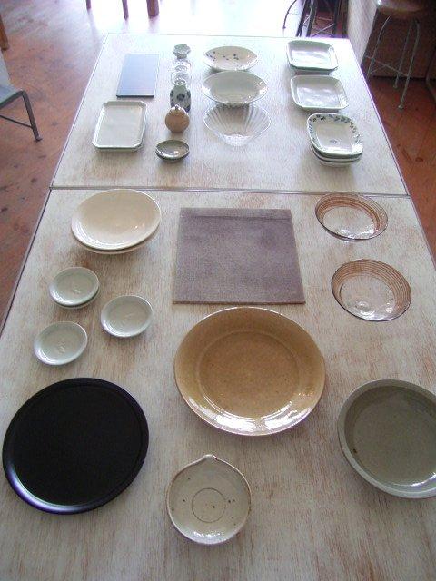 竹本さんのお皿と店内_b0206421_16371586.jpg