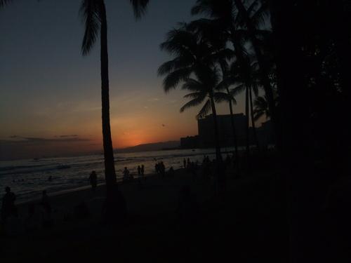 ワイキキビーチの....昼と夜!_b0137932_2163268.jpg